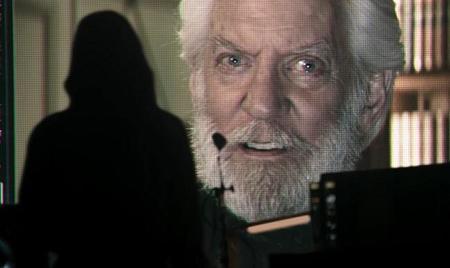 Donald Sutherland es el Presidente Snow