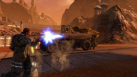 Destruir la superficie del planeta rojo será ahora posible en Nintendo Switch con la llegada de Red Faction: Guerrilla Re-Mars-tered