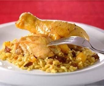 Recetas de pavo con setas y pollo al curry for Como cocinar pollo al curry