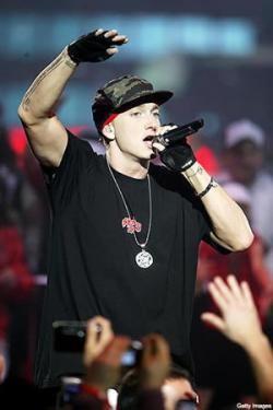 Eminem lo está pasando mal