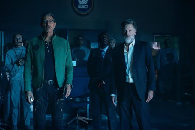 Jeff Goldblum y Bill Pullman en Independence Day 2