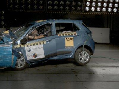 Al final no es tan seguro, el Hyundai Grand i10 reprueba los test de choque de Latin NCAP