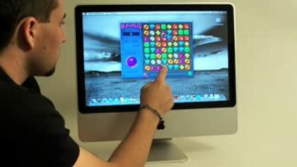 iMac multitouch podría ser una realidad