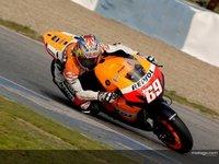 Nicky Hayden empieza con el mejor crono en los IRTA  de Jerez