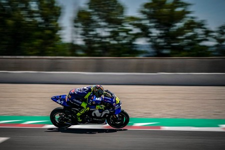 Valentino Rossi Test Catalunya 2018