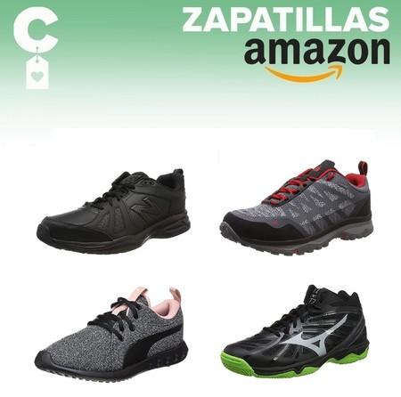 Chollos en tallas sueltas de zapatillas Mizuno, New Balance, Puma o Lafuma en Amazon