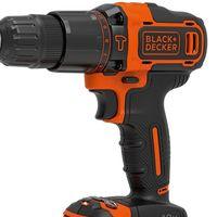 El taladro percutor Black and Decker BDCHD18KB está rebajado a 77,30 euros en Amazon: viene con dos baterías y maletín