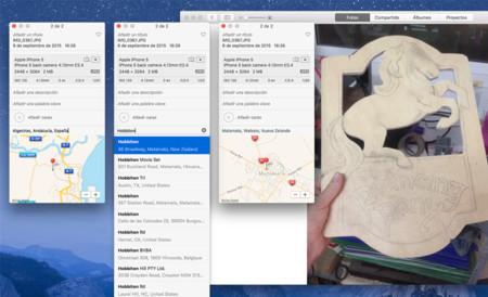 Fotos app OS X El Capitan