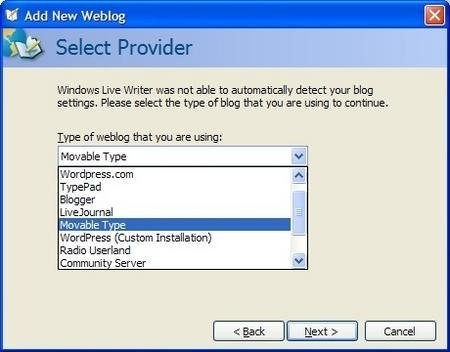 Windows Live Writer: la ayuda de Microsoft para bloggers