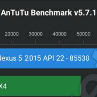 Un supuesto Nexus 5 del 2015 se da un paseo en AnTuTu rompiendo todos los records