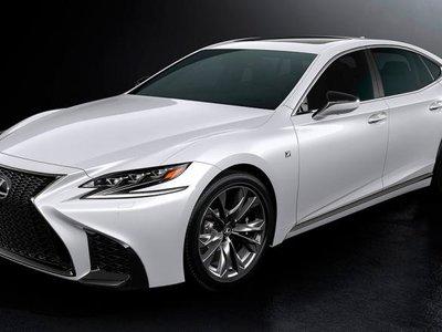 """Lexus LS 500 F Sport, la versión """"deportiva"""" del sedán de lujo"""