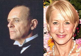 Anthony Hopkins podría ser Hitchcock, y Helen Mirren su esposa