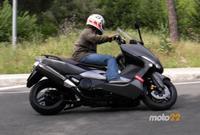 Prueba de la Yamaha TMAX 500 (3/4)