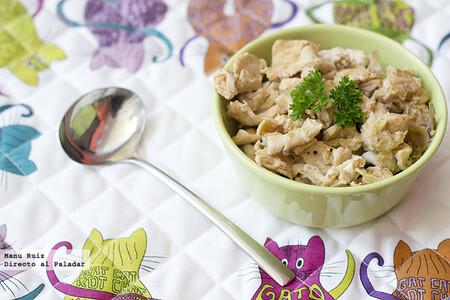 Pechugas de pollo al ajillo con pimentón, receta con Thermomix