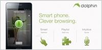 El navegador Dolphin para Android estrena Sonar, reconocimiento de voz