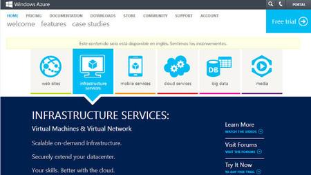 Microsoft añade la opción de Infraestructura como Servicio a Azure