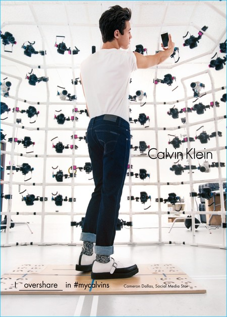Cameron Dallas 2016 Calvin Klein Campaign Fall Winter