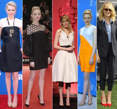 Emma Stone mejores looks 2013