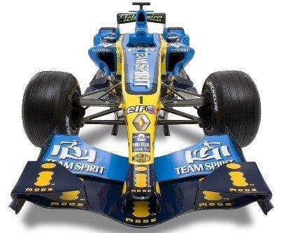 La quilla en V marca el éxito de Renault