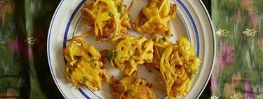 Bhaji de cebolla: el aperitivo más fácil de la cocina India, que triunfa en cualquier mesa