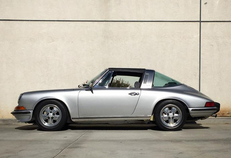 Este Porsche 911 Targa de 1973 es completamente eléctrico