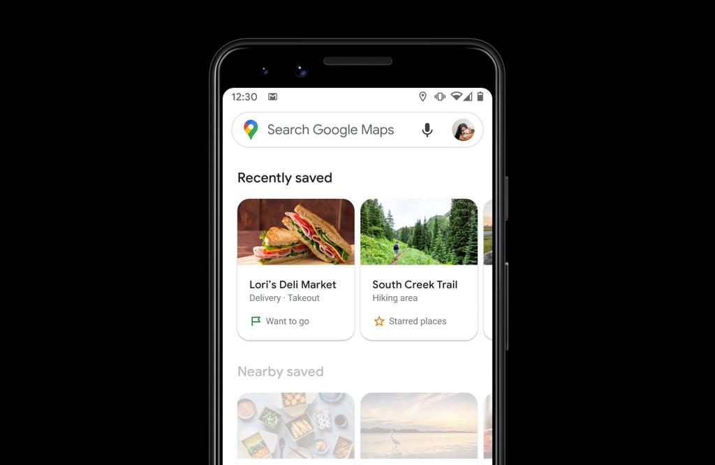 Google Maps actualiza la sección 'Guardados': en este momento es mas fácil descubrir tus lugares favoritos