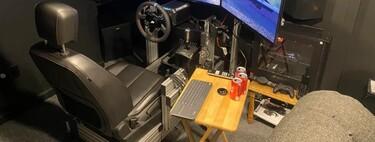 La última moda en sillas gaming es no usar sillas gaming, sino personalizar y usar asientos de coches, trenes o aviones