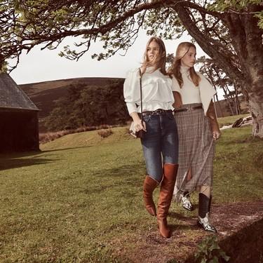 Los looks ecuestres y con aires escoceses visten la nueva campaña de otoño 2019 de Mango