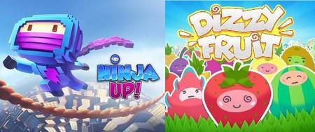 Gameloft presenta dos juegos sencillos pero divertidos; Dizzy Fruit y Ninja Up