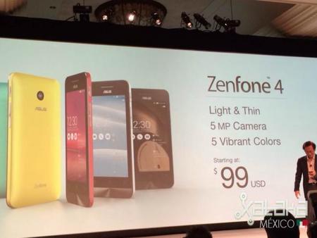 ASUS presenta sus phablets, los Zenfone 4, 5 y 6