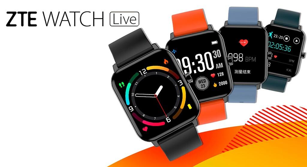 ZTE Watch Live, un horómetro inteligente básico con oxímetro y un precio demasiado reducido