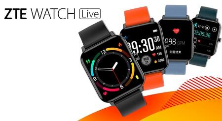 ZTE Watch Live, un reloj inteligente básico con oxímetro y un precio muy reducido