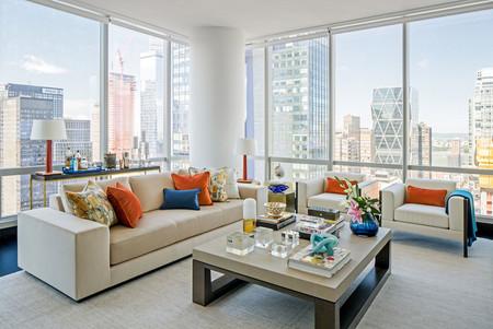 Este apartamento con vistas a Central Park es un fiel reflejo del estilo neoyorkino
