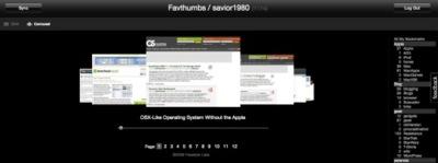 Favthumbs presenta miniaturas de tus enlaces en del.icio.us