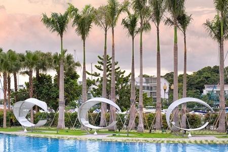 Muebles de exterior de Royal Botania en las islas de Singapur