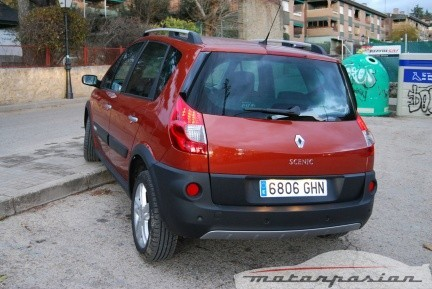 Renault Scenic Adventure, prueba (parte 2)