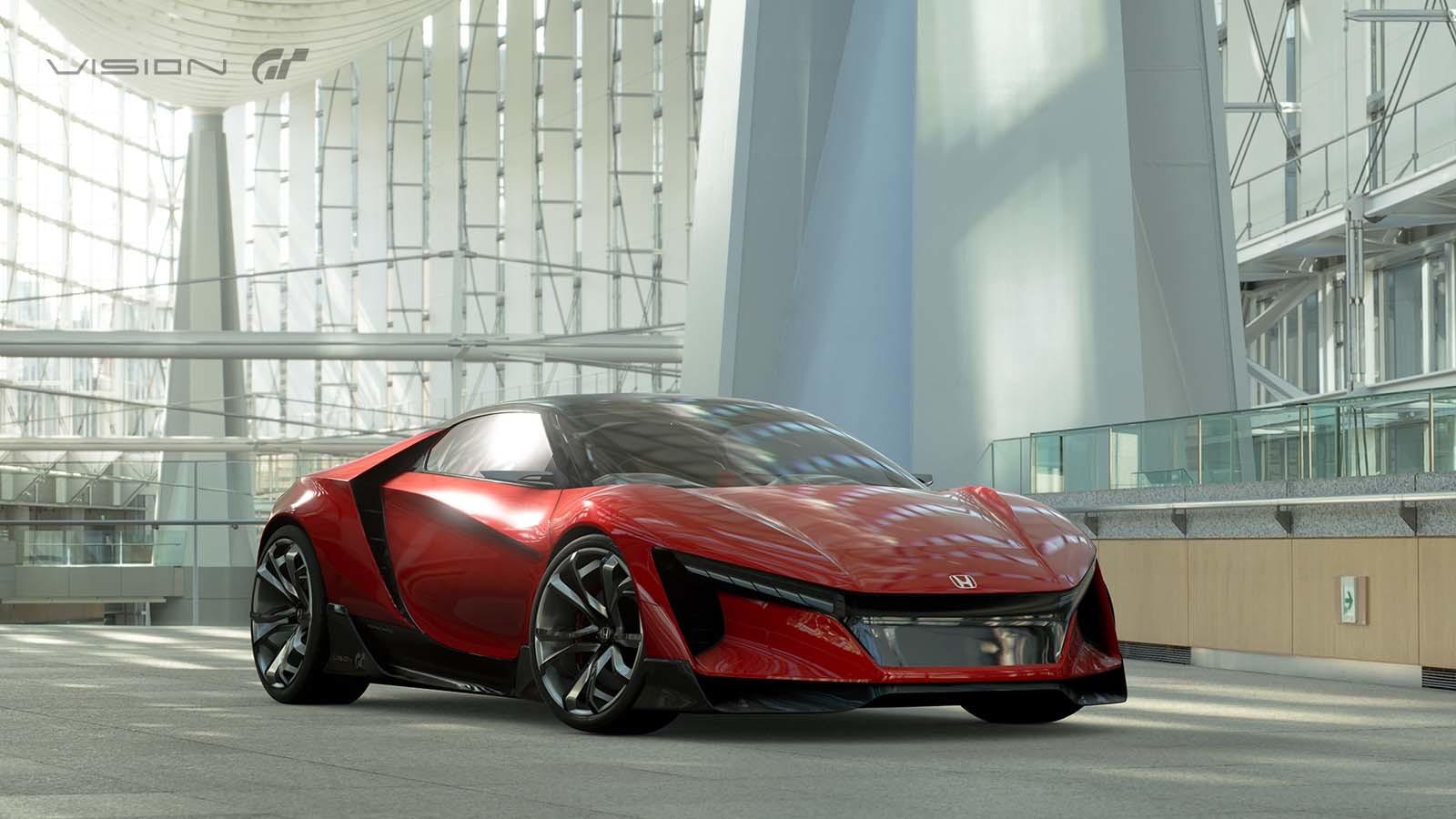 Foto de Honda Vision Gran Turismo Concept (1/12)