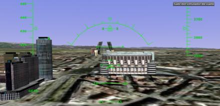 ¡Google Earth incluye un simulador de vuelo!