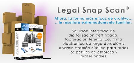 LegalSnapScan: digitalización de facturas y documentos válidos ante la Agencia Tributaria