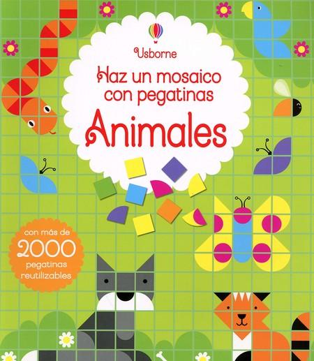 Animales Haz un mosaico con pegatinas
