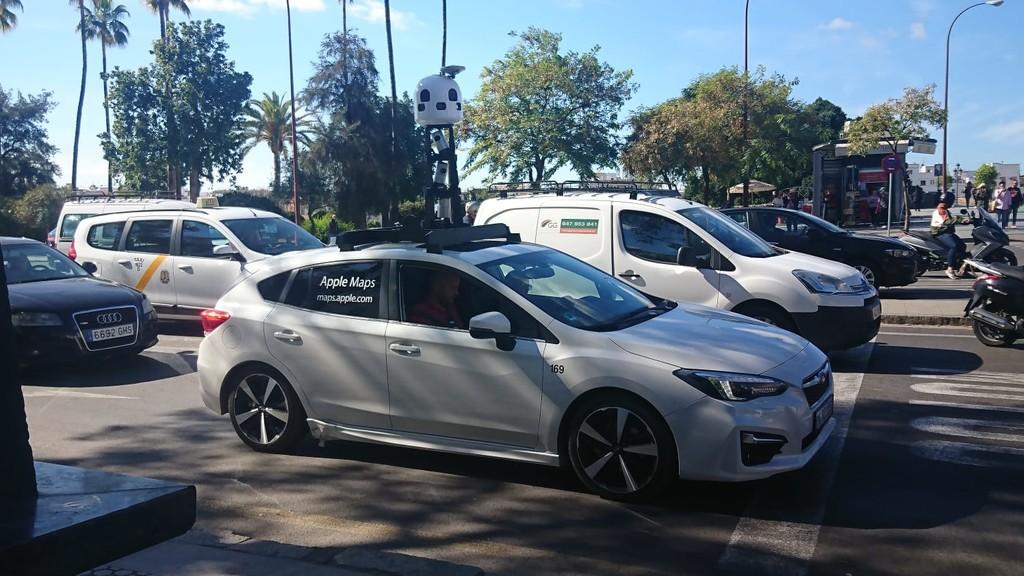 Los coches de <strong>Apple℗</strong> Maps se dan un viaje por España: han llegado en varios puntos de la península &#8220;>     </p> <div class=
