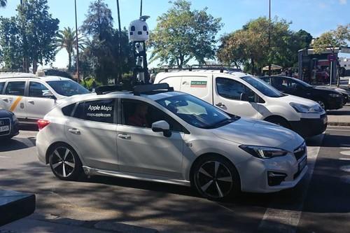 Los coches de Apple Maps se dan un paseo por España: han aparecido en varios puntos de la península
