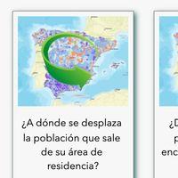 El INE publica su informe de movilidad a partir de datos móviles: 9 de cada 10 españoles se han quedado en casa
