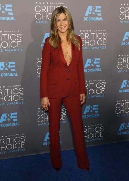 Jennifer Aniston Critics Choice Movie Awards 2015