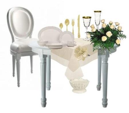 Ponemos la mesa de San Valentín (I)