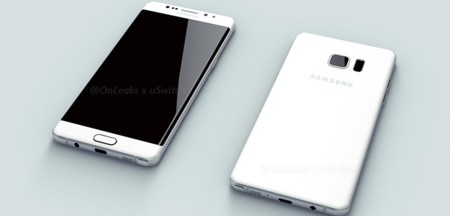 Según rumores éste podría ser el aspecto de la Galaxy Note 6/7