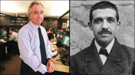 Carlo Ponzi, el maestro de Bernie Madoff