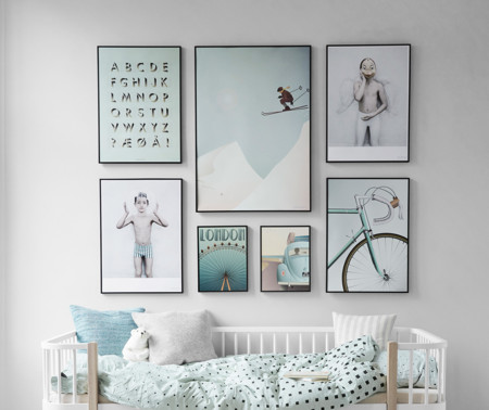 17 maneras de colgar los cuadros en tu casa for Maneras de decorar tu casa