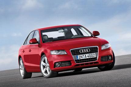 ¿Primera imagen oficial del Audi A4?