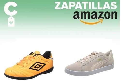 9 chollos por 20 euros o menos en tallas sueltas de zapatillas Kappa, Puma o Umbro en Amazon